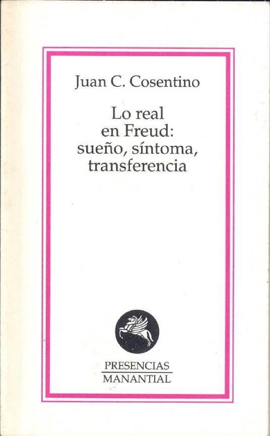 Apunte Psicoanálisis Freud Teoria Psicoanalitica